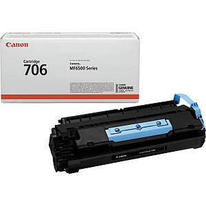 Картридж Canon 706 (чёрный) оригинальный, стандартный ресурс (5.000 копий)