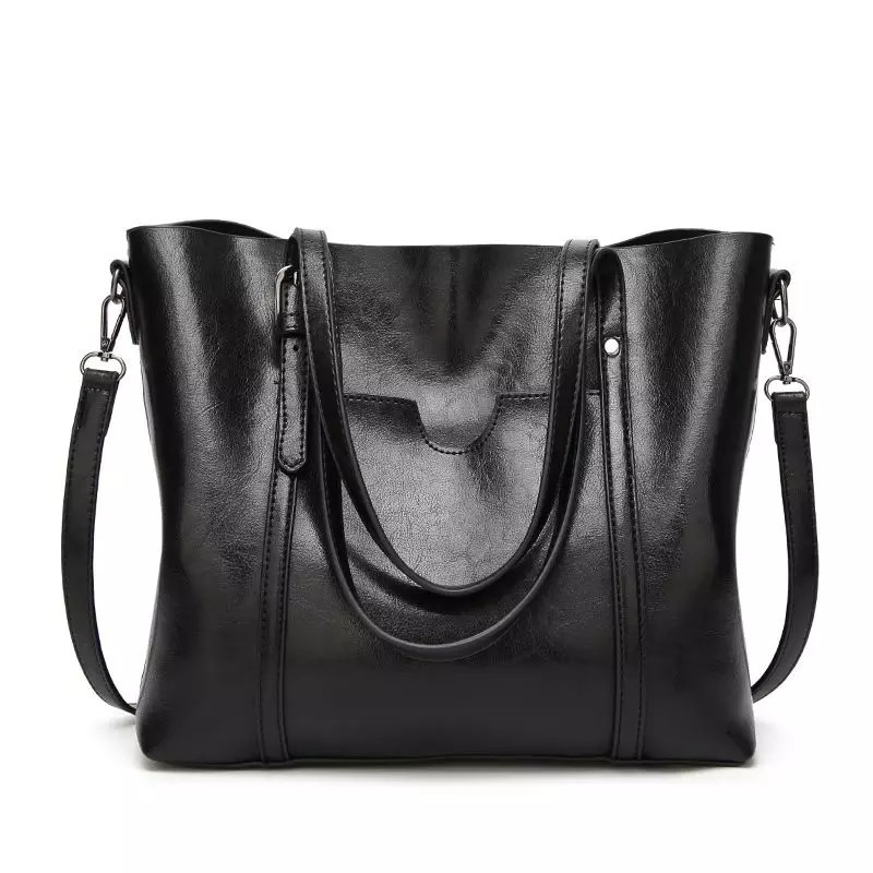 01ff69f8bfc0 Сумка Женская Модная Большая Черная — в Категории