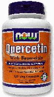 Кверцетин с Бромелаином, Now Foods, Quercetin with Bromelain, 120 Caps