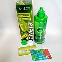 50 грн.+ Розчин для контактних лінз Avizor, Alvera 350 ml, фото 1