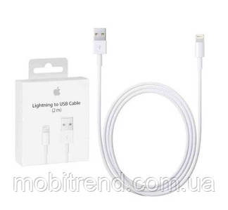 USB кабель для iPhone 6s / 7 / 8 (2m) (MD819ZM/A) Original