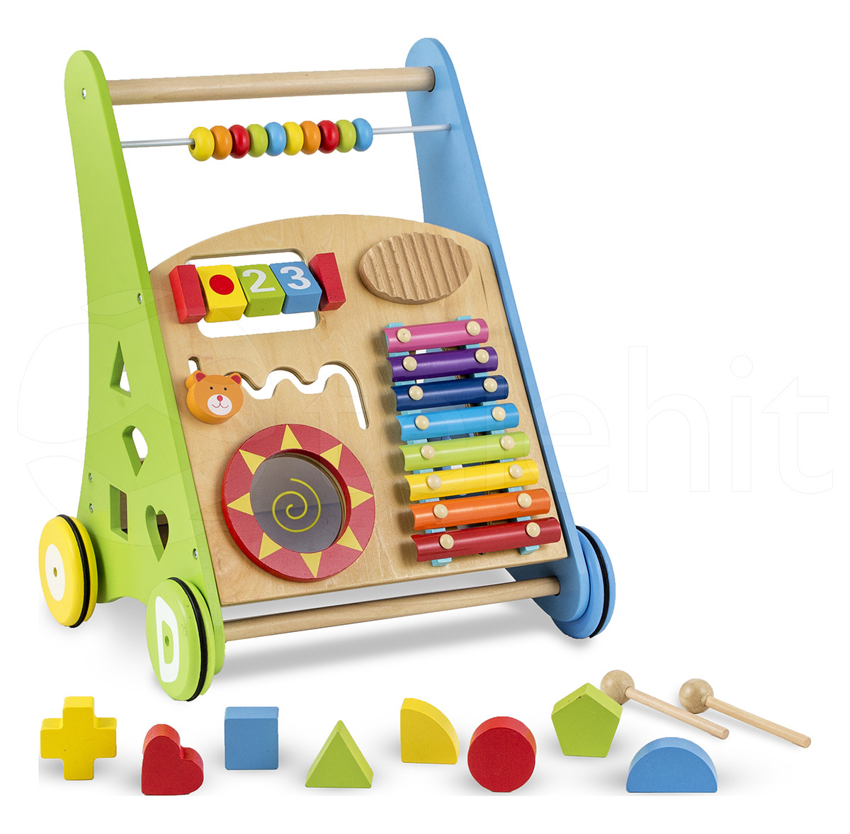 Ходунки-каталка Tobi Toys 01
