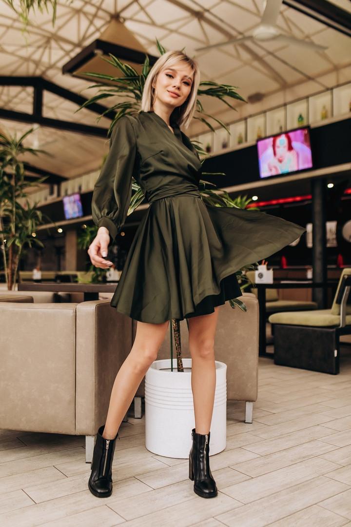 "Платье ""Stileo шелк "", шелк.   Размер:42-46. Разные цвета. (6145)"