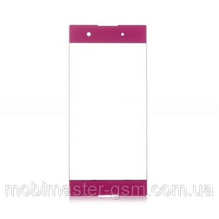 Корпусное стекло Sony G3412 Xperia XA1 Plus Dual pink, фото 2