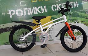 """Велосипед RoyalBaby 14"""" H2 Alu OFFICIAL UA білий/помаранчевий RB14-24"""