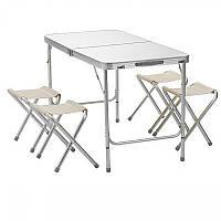 Раскладной стол для пикника со стульями NN 2 режима высоты (15_10)