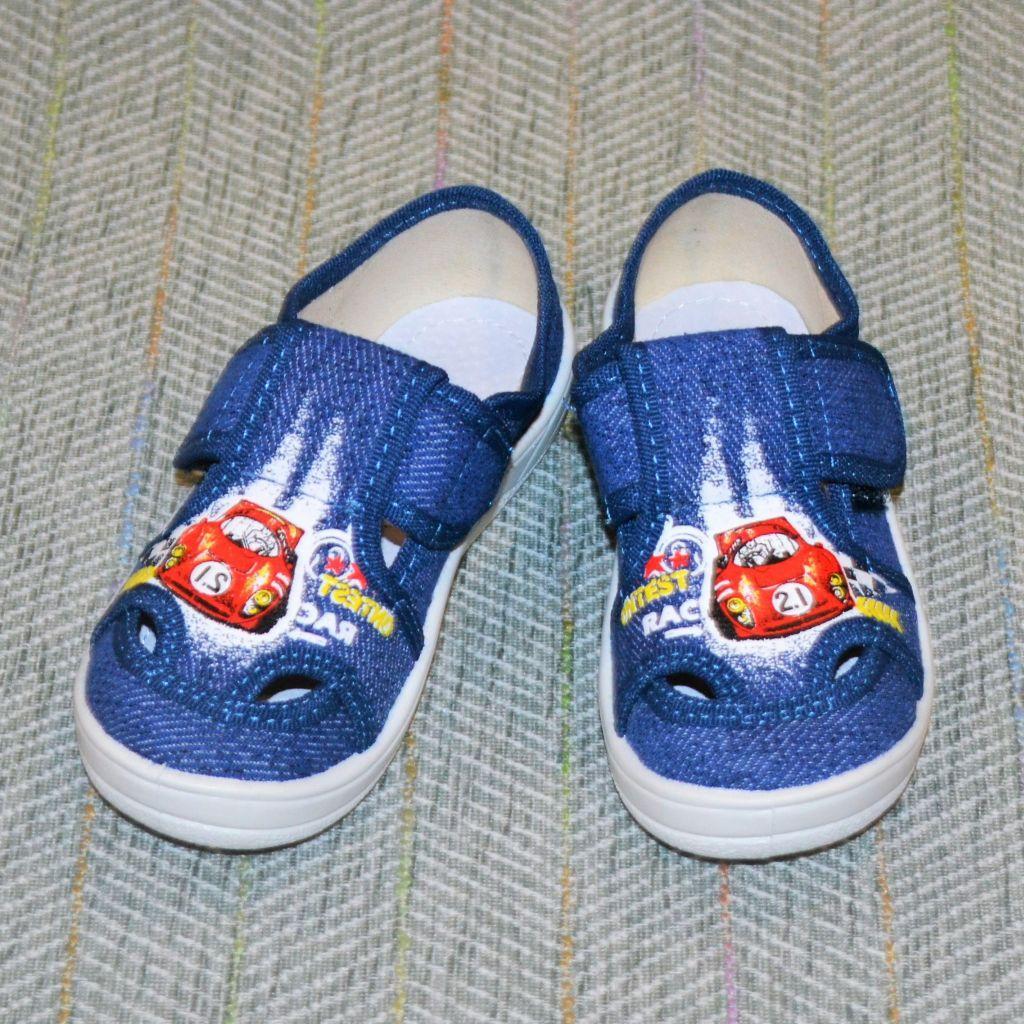 Детские тапочки для мальчиков, Waldi размер 28 29