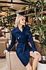 """Платье """"Маркиза"""", джинс.   Размер:С,М. Цвет: синий. (6149), фото 2"""