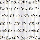 Тканевая штора для ванной комнаты Tatkraft 180 х 180 см Пингвины 18648, КОД: 166753, фото 2