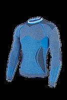 Мужская термокофта Haster Alpaca Wool M L Синяя, КОД: 124754