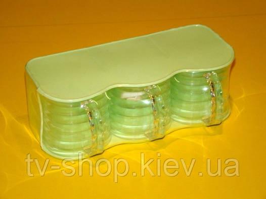 Набор емкостей для хранения сыпучих (3 шт)