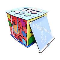 Бизикуб разноцветный ecoToy