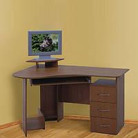 Стол компьют. Универсал 1,25 МДФ ПР сонома (Просто Меблі)
