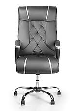 Компьютерное лучшее офисное кресло на хром.крестовине barsky design chrome bdchr-01, фото 2