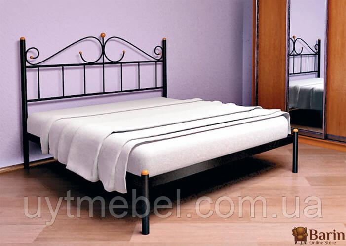 Кровать ROSANA-1 1800х2000 черный мат. (МЕТАКАМ)