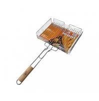 Решетка для барбекю, маленькая решетка для гриля 64х31х26х6,5 см