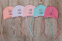 Нежные весенние шапочки для малышек