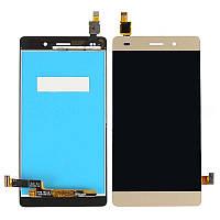 LCD модуль Huawei P8 Lite (ALE-L21) gold