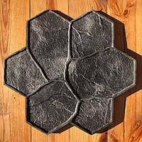 "Резиновый штамп ""Цветок"" для печати по бетону 440*425 мм"