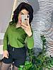 Женская блуза с пришитыми жемчужинами в расцветках. Д-2-0620, фото 6
