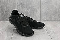 Кроссовки A 1802-3 (Nike Lunar) (весна-осень, мужские, текстиль, черный), фото 1