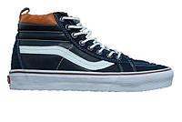 Кеды мужские Vans Sk8-Hi Durk Blue/Brown/White (Реплика ААА класса)