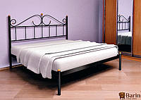 Кровать ROSANA-1 1600х2000 коричн. (МЕТАКАМ)
