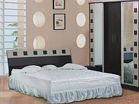 Кровать София NEW 1600 + вклад венге (Просто Меблі)