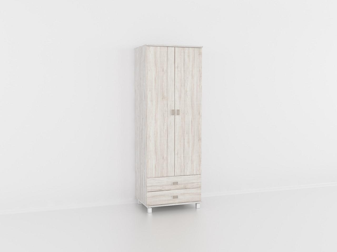 Шкаф для одежды Дуб Глазго, шкаф в гостинную, залу. Мебель из МДФ