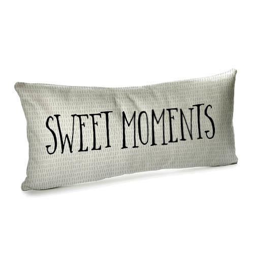 Подушка для дивана бархатная Sweet moments 50x24 (52BP_17L015)
