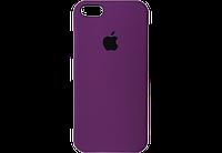 Чехол iPhone 5 / 5s / SE Silicone Case OEM ( Фиолетовый  34)