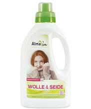 Жидкое средство для стирки шерсти и шелка AlmaWin WOLLE & SEIDE, Германия, 750 мл