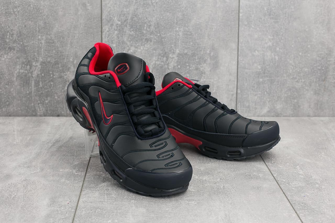 Кроссовки G 5068-1 (Nike Air Max Plus TN) (весна-осень, мужские, кожа прессованая, синий)
