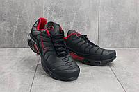 Кроссовки G 5068-1 (Nike Air Max Plus TN) (весна-осень, мужские, кожа прессованая, синий), фото 1