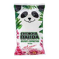 Салфетки влажные Снежная панда для рук Сакура 15 шт