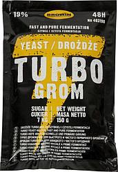 Дрожжи Turbo Grom 48 150 грамм