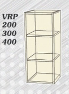 Кухня Фреш V RR 300 ваниль/фиолет (Альфа)