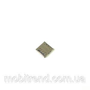 Сим коннектор для Samsung S5282/S5310/S5312/S6790/S7262/S7390/S7392/G130/G313H/G318H