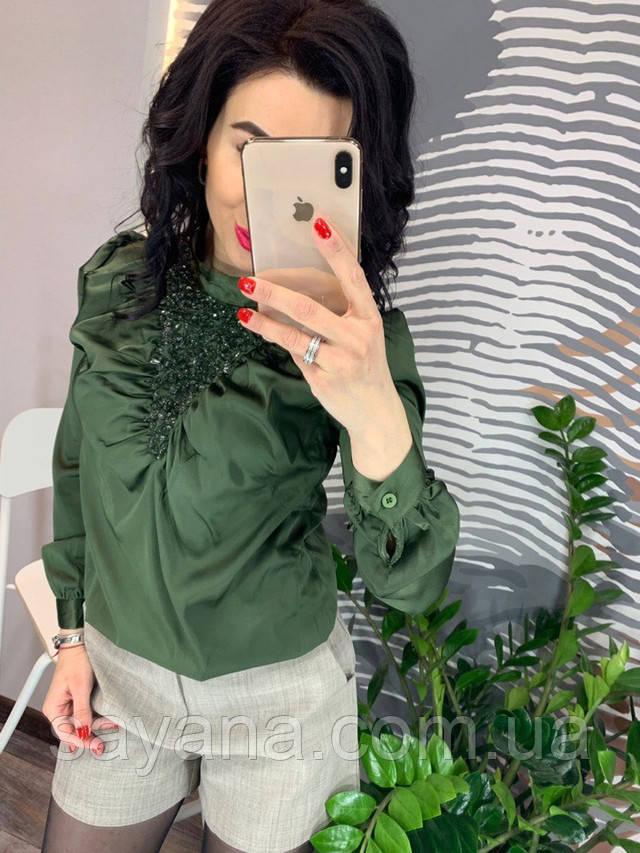 женская блуза из шелка опт