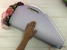 Цветочный пакет сирень BLOOM размер 60/55/5.5см цветочная упаковка для флористики пакет для букета
