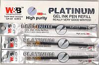 Стержни гелевые GP-123 Platinum черный 0.35мм
