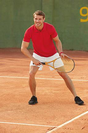 Спортивное мужское поло 63-038-0, фото 2