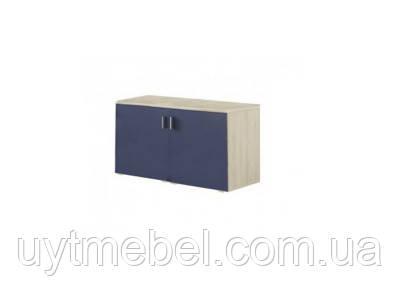 Тумба Доміно нижня 800 бук айконік/фіолет синій (Сокме)