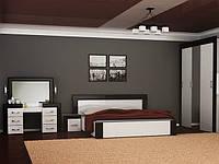 Спальня Виола Кровать + 2 прикроватки (Нова)