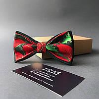 Галстук-бабочка I&M Craft с цветочным принтом (010300)