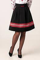 Красивая   юбка с народным орнаментом