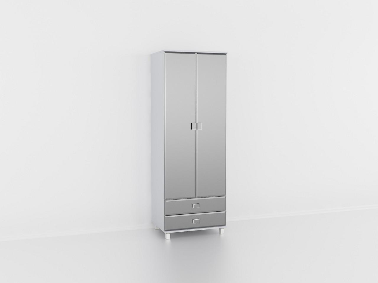Шкаф для одежды Металлик, шкаф в гостинную, залу. Мебель из МДФ
