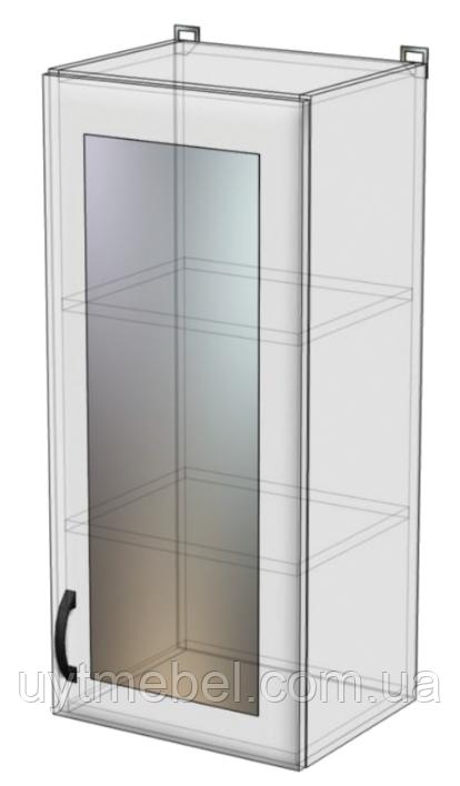 Кухня Нова Мдф 400/900 ВВ ПР венге св./лаванда перли (Абсолют)