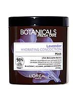 Питательная маска для поврежденных волос L'Oréal Botanicals Fresh Care Lavender, 200 ml.