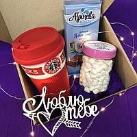 Подарок для девушки, подруги, мамы с чашкой Старбакс